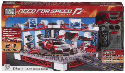 Mega Bloks 95720 - Need for Speed Dream Garage (Audi R8, NFS Custom R8)