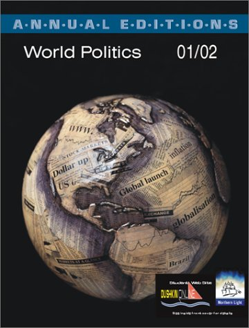 Annual Editions: World Politics 01/02