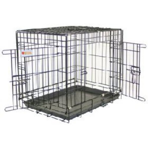 Artikelbild: Vital Dog Crate & Tray Training Travel Cage Small