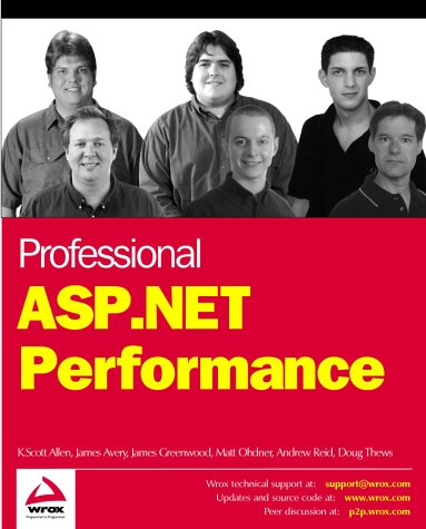 Professional ASP.NET Performance (Programmer to programmer)