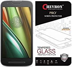 Chevron Ultimate Protection Pro+ Motorola Moto E3 Power Tempered Glass