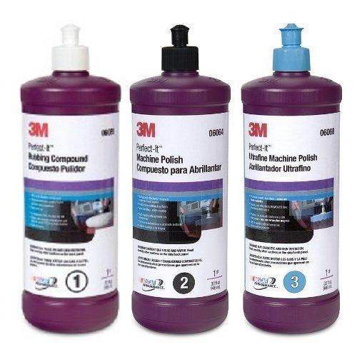 1Pk - 3M - Perfect It Buffing & Polishing Compound 06085 06064 06068 (3m Polishing Compound compare prices)