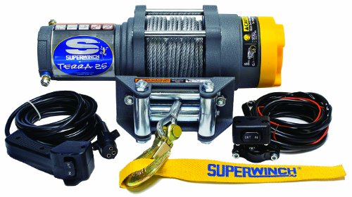 Review Superwinch 1125220 Terra 25 2500lb Winch with Roller Fairlead and More