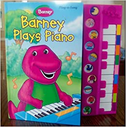 Barney Plays Piano Play-a-Song Large Interactive Book!: Various