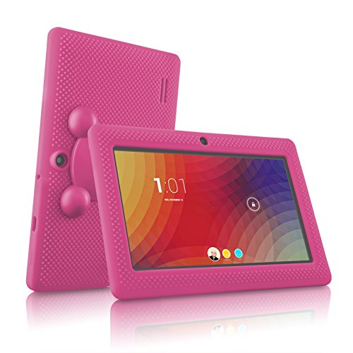 LillyPad Jr.® Kids Tablet with Exclusive App Suite and Parental Controls - Android 4.4 KitKat and Bluetooth 4.0 - Candy Pink