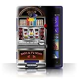 STUFF4 Phone Case Cover for HTC Windows Phone 8X Machine Design Slot Machine Collection