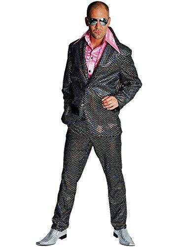 disco anzug glitter partyanzug herren 80er jahre saturday. Black Bedroom Furniture Sets. Home Design Ideas