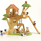 Sylvanian Families Cedar Terrace With 2 Figures