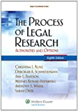 img - for The Process of Legal Research: Authorities and Options, Eighth Edition book / textbook / text book