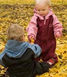 Hippychick Fleece Lined Pink/Plum All-in-One Suit, Waterproofs, Girls