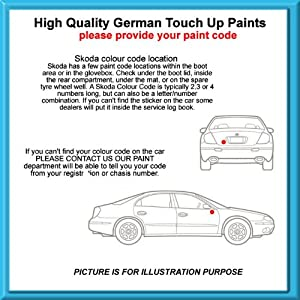Skoda High Quality German Car Touch Up Paint 30Ml F8J Y.D Anthracite Grey Met From 06 - 12 from MACPACARPARTS