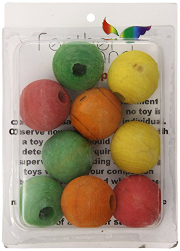 Paradise 2-Inch Wood Beads Bird Toy - 1