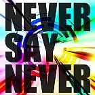 NEVER SAY NEVER 【Type-B】(在庫あり。)