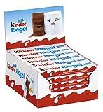 Kinder Chocolate Snack Bars Box of 36
