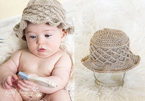 Little Explorer Hat Crochet Pattern - Summer Baby/Toddler Bucket Hat - All Sizes Newborn Through 1-3 Years Included front-656270