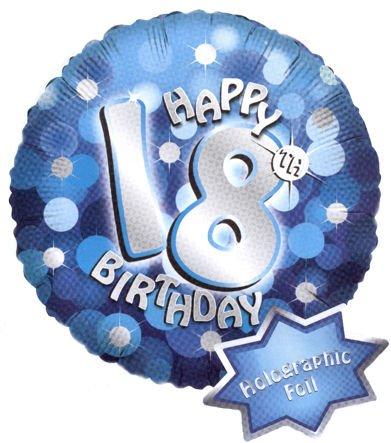 helium ballon 18 geburtstag mit preisvergleich shops tests 4003359661515. Black Bedroom Furniture Sets. Home Design Ideas