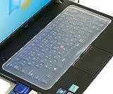 クラムワークス 汎用 PCキーボードカバー 【タッチタイピング可能な柔軟素材】 JPM3113TY