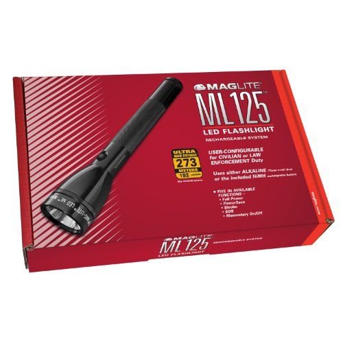 Maglite ML125-33014 ML125 LED Flashlight Rechargeable