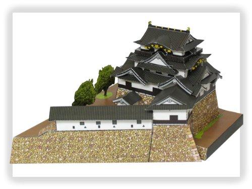 ペーパークラフト 日本名城シリーズ 1/300 国宝 彦根城