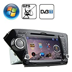 See Rungrace 8.0 inch Windows CE 6.0 TFT Screen In-Dash Car DVD Player for KIA K2 with Bluetooth / GPS / RDS / DVB-T Details
