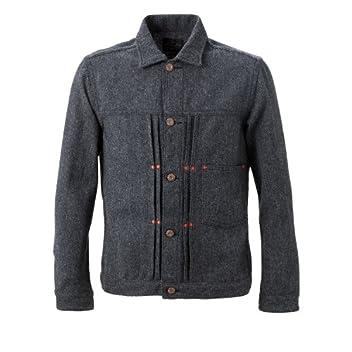 Sunny Sports Pleats Jacket SN-13F-013: Gray Herringbone