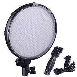 AW Pro Bi-Color 800pcs Photography LED Light Portrait Lighting Photo Video Studio Dimmer News Meeting