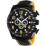 Reloj de Acero Inoxidable Joshua & Sons JS714YL con Función Cronógrafo para Caballero