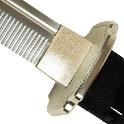 DerShogun Iaito Samuraischwert - stumpfe Klinge aus Aluminium-Zink-Legierung