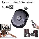 Avantree Saturn Bluetooth Audio Converter Adapter Transceiver - Black