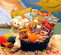 Rockin' Blast of Fun Activity Gift Basket for Children -Organic Stores by Organic Stores, Inc.