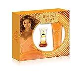 Beyonce Heat Rush 2 Piece Gift Set (0.5 Ounce Eau De Toilette Plus 2.5 Ounce Body Lotion)
