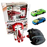 Batman Anti Gravity Wall Climber Crawler Rechargeable RC IR Stunt Car Toy For Kids & 2 Ben 10 Push Cars
