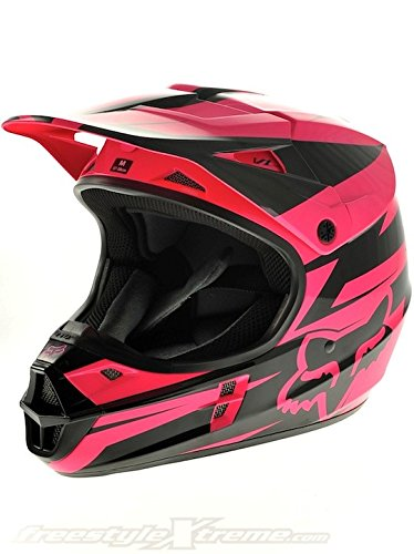 Fox Black Pink V1 Costa 2013 MX Helmet