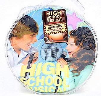 High School Musical Blue Speaker Pillow