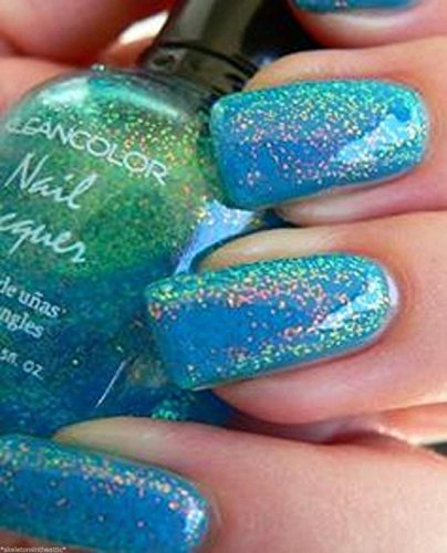 3D-Beauty-Effect-Holographic-Glitter-Nail-Polish-Chunky-Holo-Teal-Lacquer