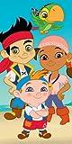 Disney Jake and The Neverland Pirates Beach Bath Cotton Towel