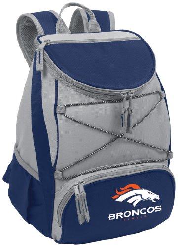Nfl Denver Broncos Ptx Insulated Backpack Cooler, Navy front-64120