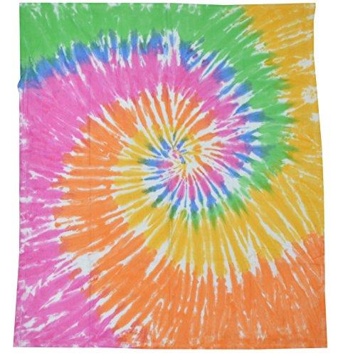 Colortone Tie Dye Blanket Etenity (Tye Dye Quilt compare prices)