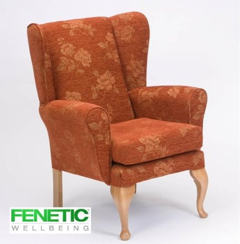 Queen Anne Fireside Highback wingback chair