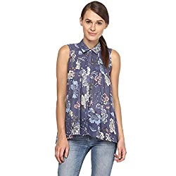Annapoliss Women's Shirts (ANWH03_Blue_X-Large)
