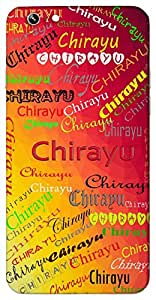 Chirayu (Long Living) Name & Sign Printed All over customize & Personalized!! Protective back cover for your Smart Phone : Moto G-4