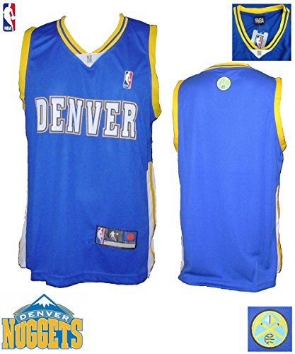 Mens Adidas Denver Nuggets 25 Malik Beasley Authentic: Denver Nuggets Authentic Jersey, Nuggets Official Jersey