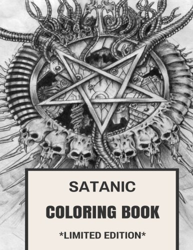 free satanic coloring pages - photo#35