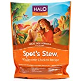 Halo Spot's Stew Natural Dry Dog Food, Adult Dog, Wholesome Chicken Recipe, 10-Pound Bag