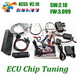 DHCCREATE 2016 High Recommend Kess V2.10 ECU Tuning Kit Kess Firmware V3.099 No Token Limitation Kess Master Version ECU Programmer