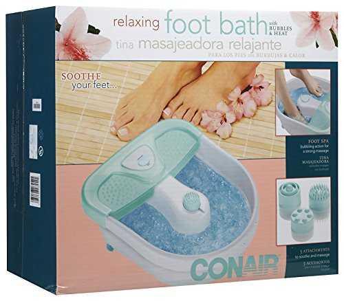 conair foot spa instructions