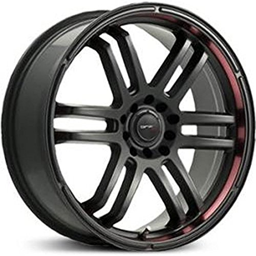 Drifz FX 18x8 Black Wheel / Rim 5x4.5 & 5x120 with a 35mm Offset and a 74.10 Hub Bore. Partnumber 207B-8805735 (Nissan Juke Black Rims compare prices)