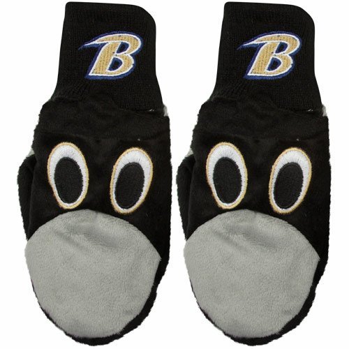 NFL Baltimore Ravens Youth Mascot Mitten at Amazon.com