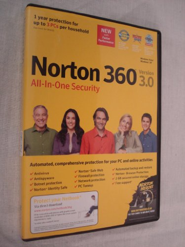 Norton All-In-One Security Version (Windows Vista and XP - GamD See more like this.