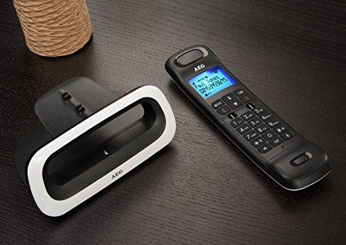 Aeg loop telefono design dect cordless bianco telefoni - Telefoni cordless design ...